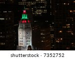 Wrigley Building At Night With...