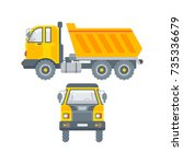 stock vector isolated kipper...   Shutterstock .eps vector #735336679