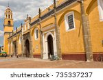 march 31  2014 cholula  mexico  ... | Shutterstock . vector #735337237