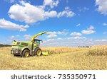 mikhailovka  ukraine   august... | Shutterstock . vector #735350971