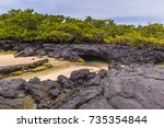 Landscape Of The Lava Tunnels...