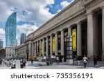 toronto  canada   august 24 ... | Shutterstock . vector #735356191