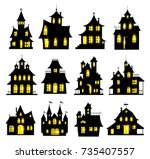 Halloween Haunted House Set...