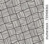 vector seamless pattern....   Shutterstock .eps vector #735408361