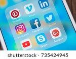 bangkok  thailand   oct 16 ...   Shutterstock . vector #735424945