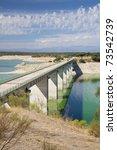valdecanas reservoir at badajoz ... | Shutterstock . vector #73542739