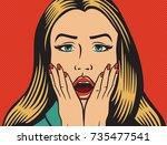 vector illustration of... | Shutterstock .eps vector #735477541