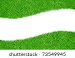 A Green Grass Blank Curve...