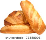 fresh bread. vector... | Shutterstock .eps vector #73550008