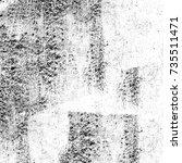 grunge black white. image for... | Shutterstock . vector #735511471