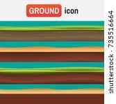 soil ground vector. different...   Shutterstock .eps vector #735516664