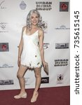 Small photo of Chantelle Albers attends Red Carpet Halloween Hotness 4: Heating Up For the Cure at American Legion Post 43, Los Angeles, California on October 10th 2017