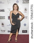 Small photo of Alisa Reyes attends Red Carpet Halloween Hotness 4: Heating Up For the Cure at American Legion Post 43, Los Angeles, California on October 10th 2017
