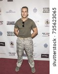 Small photo of Lucas C. Lockwood attends Red Carpet Halloween Hotness 4: Heating Up For the Cure at American Legion Post 43, Los Angeles, California on October 10th 2017