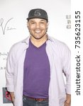 Small photo of Geno Segers attends Red Carpet Halloween Hotness 4: Heating Up For the Cure at American Legion Post 43, Los Angeles, California on October 10th 2017