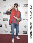 Small photo of Kash Hovey attends Red Carpet Halloween Hotness 4: Heating Up For the Cure at American Legion Post 43, Los Angeles, California on October 10th 2017
