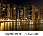 night city | Shutterstock . vector #73563388