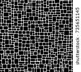 abstract seamless pattern. | Shutterstock .eps vector #735651145