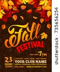Fall Festival Flyer Or Poster...