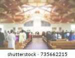 Church Congregation Service...