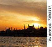 Hagia Sophia And Blue Mosque O...