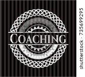 coaching silver badge or emblem