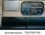 Small photo of Train seat,seat