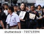 bangkok thailand dec5 2016 the... | Shutterstock . vector #735715594