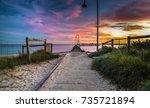Dramatic Sky City Beach Sunset...