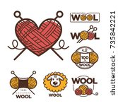 wool labels or logo for pure...