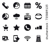 16 vector icon set   phone ...