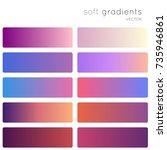 purple soft color gradients....