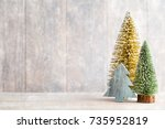 christmas background  greeting... | Shutterstock . vector #735952819