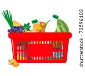 vector icon of  healthy... | Shutterstock .eps vector #73596103