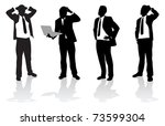 business people | Shutterstock .eps vector #73599304