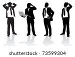 business people | Shutterstock .eps vector #73599304