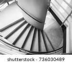 stairs step building interior... | Shutterstock . vector #736030489