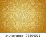 vintage grunge brown pattern ... | Shutterstock . vector #73604011