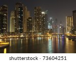 night city | Shutterstock . vector #73604251