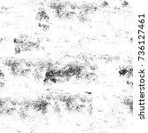 seamless grunge black white.... | Shutterstock . vector #736127461
