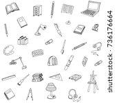 vector illustration of a... | Shutterstock .eps vector #736176664