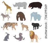 Animals  Set Of Animals....