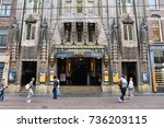 amsterdam  netherlands   july... | Shutterstock . vector #736203115