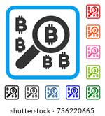 find bitcoin icon. flat grey...