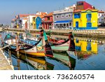 aveiro  portugal. october 10 ... | Shutterstock . vector #736260574