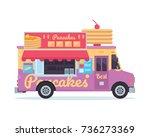 modern delicious commercial... | Shutterstock .eps vector #736273369