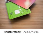 Small photo of Contact-less credit card