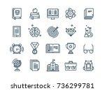 school education  university.... | Shutterstock .eps vector #736299781