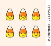 Cute Candy Corn Emoji....