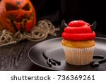 Halloween Red One Cupcake In...